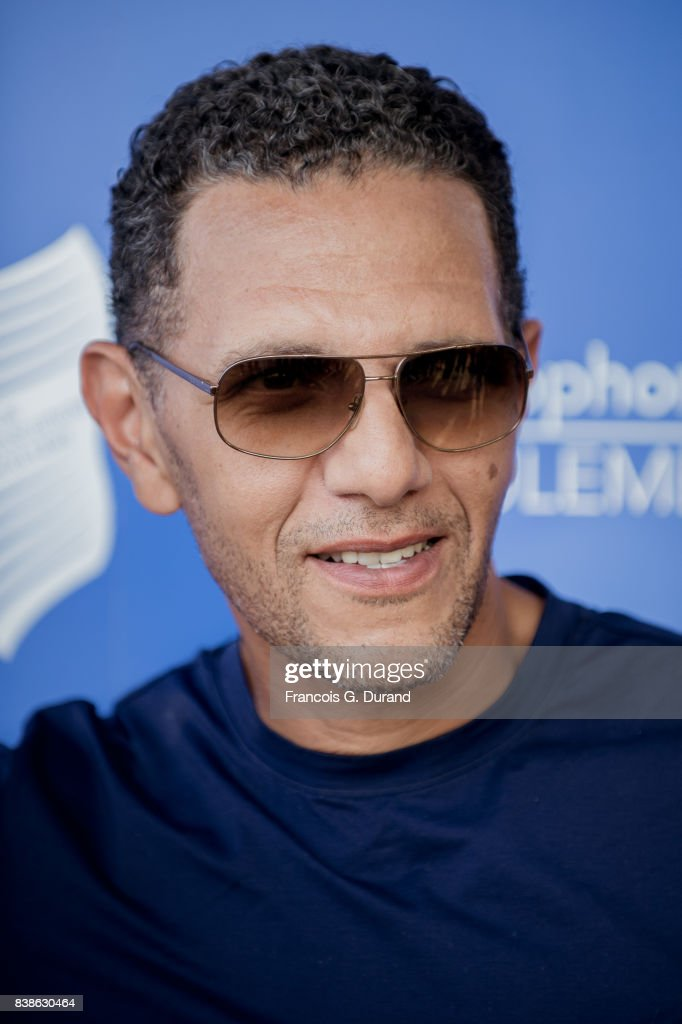 Roschdy Zem attends the 10th Angouleme French-Speaking Film Festival on August 24, 2017 in Angouleme, France.