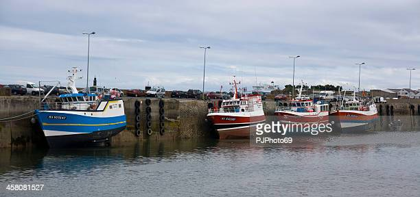 Roscoff (Brittany) - Boats and Low Tide