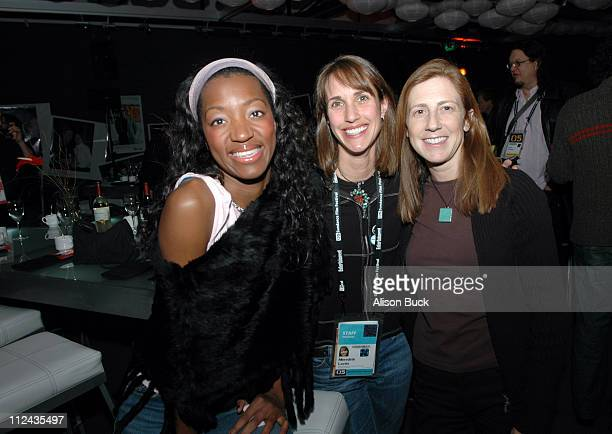 Rose Adkins Director of Corporate Development for Sundance Meredith Lavitt and Jill Miller
