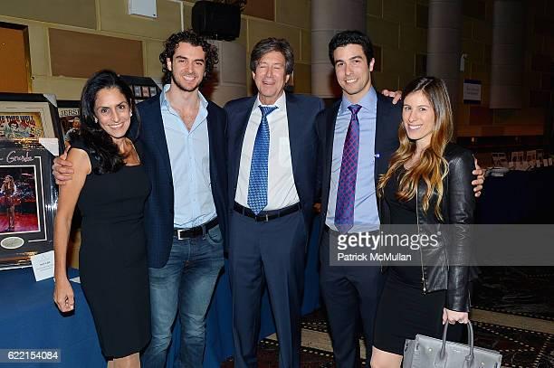 Rose Ann Weinstein David Weinstein Jeffrey Weinstein Robert Weinstein and Remy Weinstein attend Strolling Supper Lung Cancer Research Foundation's...