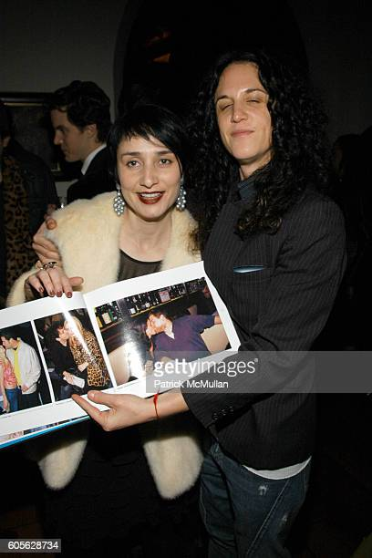 Rose Apodaca and Amanda Scheer-Demme attend ETRO and Perrier Jouet celebrate the launch of Patrick McMullan's book KISS KISS at Chateau Marmont on...