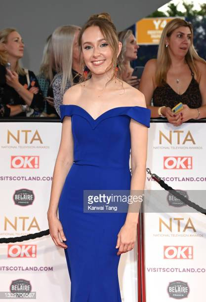 Rose Ayling-Ellis attends the National Television Awards 2021 at The O2 Arena on September 09, 2021 in London, England.