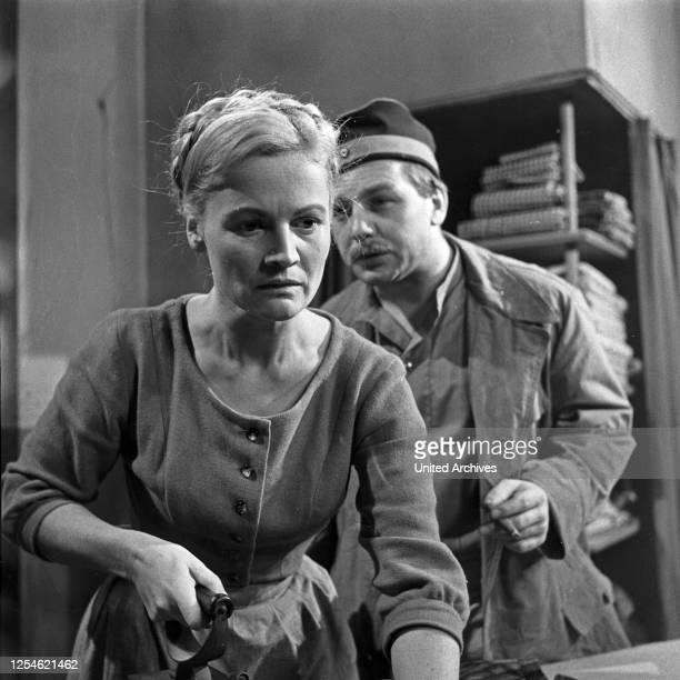 Rose Bernd Fernsehfilm Deutschland 1962 Regie Gustav Burmester Darsteller Ida Krottendorf Konrad Mayerhoff