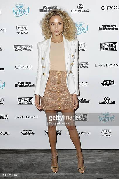 Rose Bertram attends A Night at Sea VIP Boat Cruise sponsored by Sports Illustrated Swimsuit 2016 Yacht Cruise on February 18 2016 in Miami City
