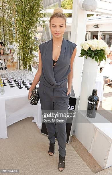 Rose Bertram attends InStyle's 'Spirit In Film' lunch in partnership with Bulldog Gin during the 69th Cannes Film Festival at Miramar Beach on May 17...