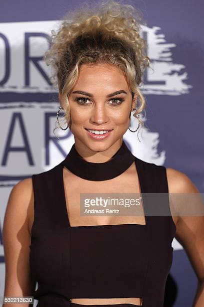Rose Bertram attends the L'Oreal Paris Blue Obsession Party at the annual 69th Cannes Film Festival at Hotel Martinez on May 18 2016 in Cannes France