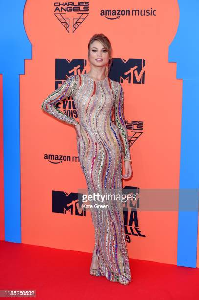 Rose Bertram attends the MTV EMAs 2019 at FIBES Conference and Exhibition Centre on November 03 2019 in Seville Spain