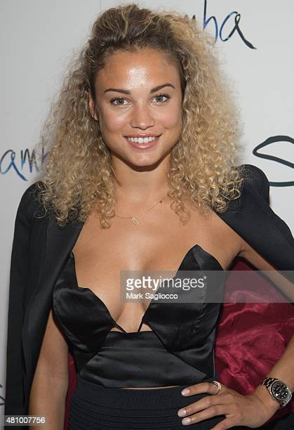 Rose Bertram attends the 'Samba' New York Premiere at the Paris Theater on July 16 2015 in New York City