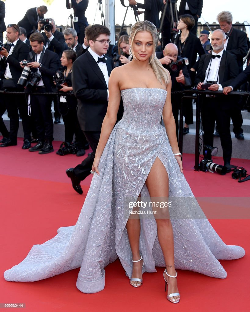 Rose Bertram attends the screening of 'Capharnaum' during the 71st annual Cannes Film Festival at Palais des Festivals on May 17, 2018 in Cannes, France.