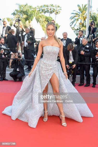 Rose Bertram attends the screening of Capharnaum during the 71st annual Cannes Film Festival at Palais des Festivals on May 17 2018 in Cannes France