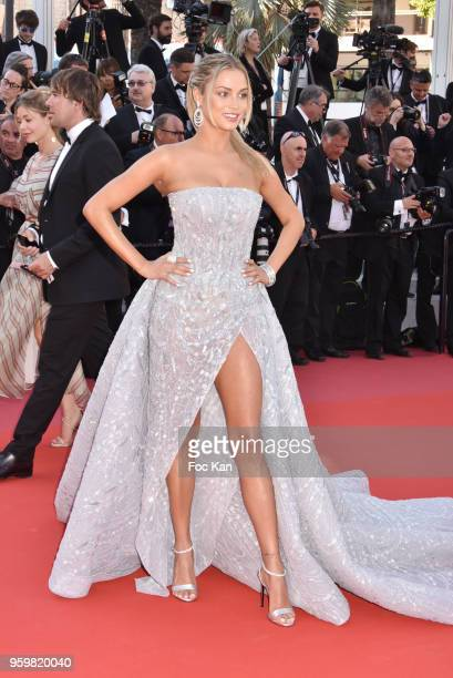 Rose Bertram attends the screening of'Capharnaum' during the 71st annual Cannes Film Festival at Palais des Festivals on May 17 2018 in Cannes France