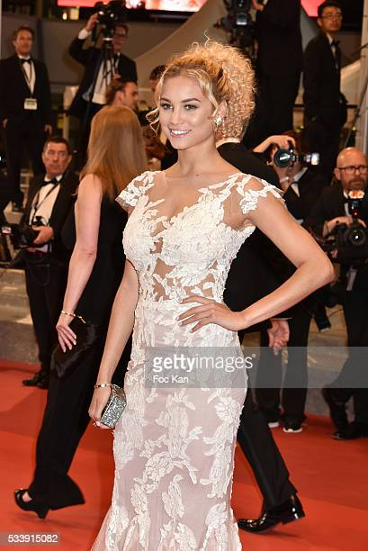 Rose Bertram attends 'The Strangers ' Premiere during the 69th annual Cannes Film Festival at the Palais des Festivals on May 18 2016 in Cannes France