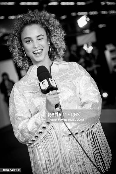 Rose Bertram during the MTV EMAs 2018 at Bilbao Exhibition Centre on November 04 2018 in Bilbao Spain