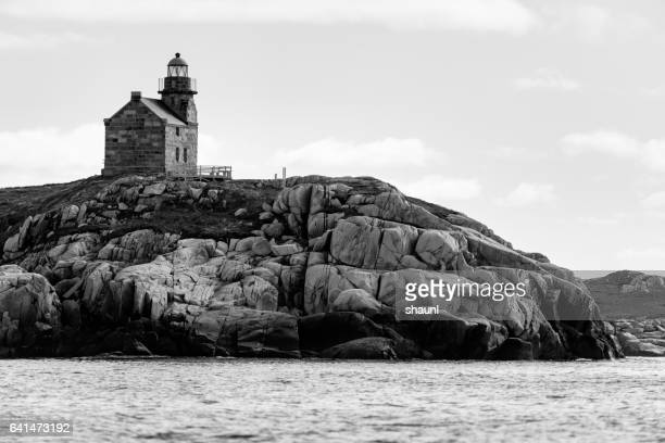 rose blanche lighthouse - newfoundland and labrador stock pictures, royalty-free photos & images