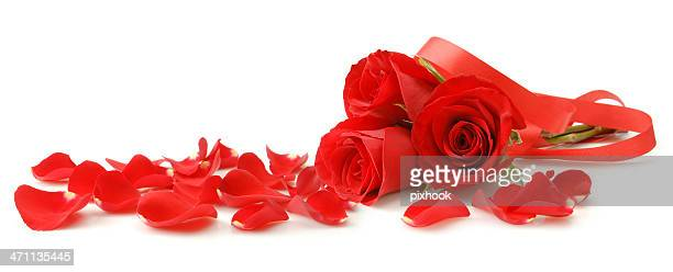 rose bouquet - rose petals stock pictures, royalty-free photos & images