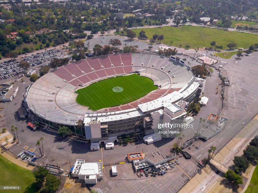 Rose bowl stadium in Pasadena CA : Stock Photo