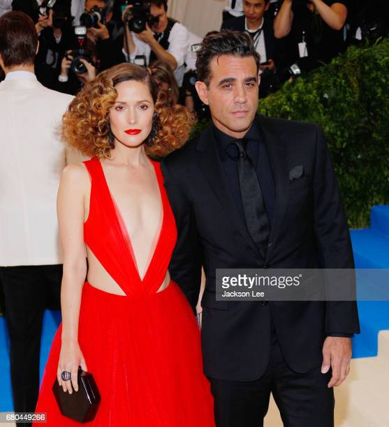 Rose Bryne and Bobbie Cannavale at 'Rei Kawakubo/Comme des GarçonsArt of the InBetween' Costume Institute Gala at Metropolitan Museum of Art on May 1...
