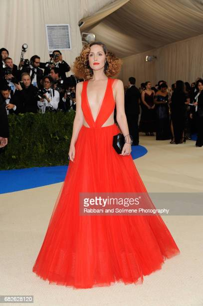 Rose Bryne attends 'Rei Kawakubo/Comme des Garcons Art Of The InBetween' Costume Institute Gala Arrivals at Metropolitan Museum of Art on May 1 2017...