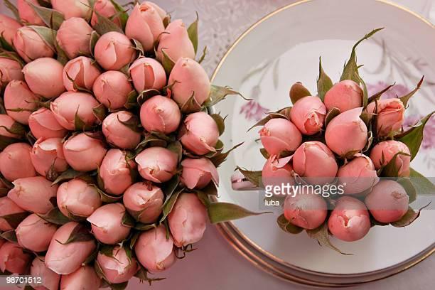 bouqet de capullo de rosa