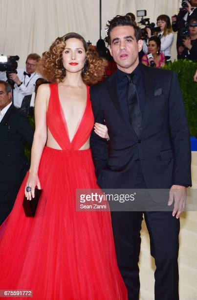 Rose Byrne and Bobby Cannavale arrive at 'Rei Kawakubo/Comme des Garcons Art Of The InBetween' Costume Institute Gala at The Metropolitan Museum on...