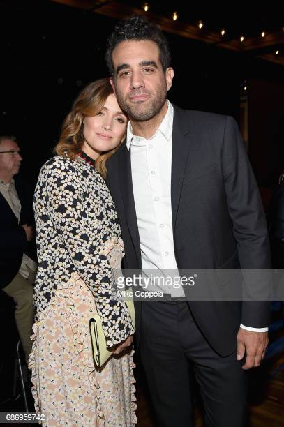 Rose Byrne and Bobby Cannavale attend at the 2017 Obie Awards at Webster Hall on May 22 2017 in New York City