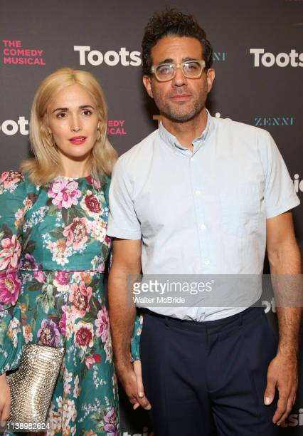 Rose Byrne and Bobby Cannavale attend the Broadway Opening Night of Tootsie at The Marquis Theatre on April 22 2019 in New York City