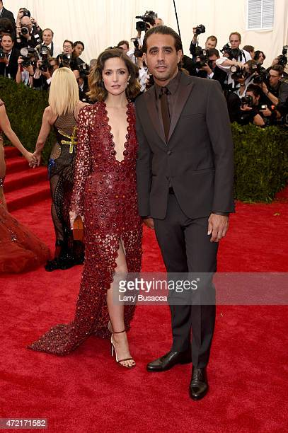 Rose Byrne and Bobby Cannavale attend the 'China Through The Looking Glass' Costume Institute Benefit Gala at the Metropolitan Museum of Art on May 4...