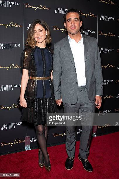 Rose Byrne and Bobby Cannavale attend the 'Danny Collins' New York Premiere at AMC Lincoln Square Theater on March 18 2015 in New York City