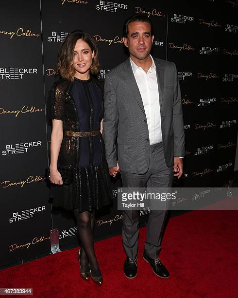 Rose Byrne and Bobby Cannavale attend the Danny Collins premiere at AMC Lincoln Square Theater on March 18 2015 in New York City