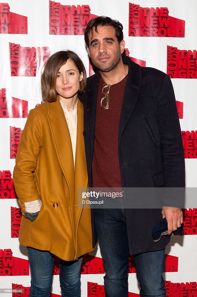 Rose Byrne (L) and Bobby Cannavale attend the 'Sticks and Bones' opening night after party at KTCHN Restaurant on November 6, 2014 in New York City.