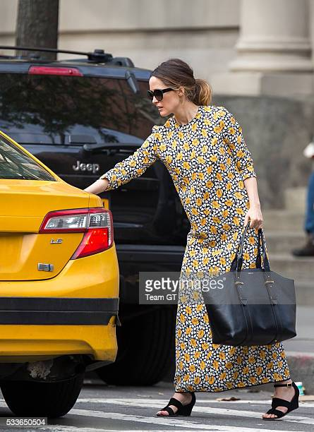 Rose Byrne and Noah Bean is seen on May 22 2016 in New York City