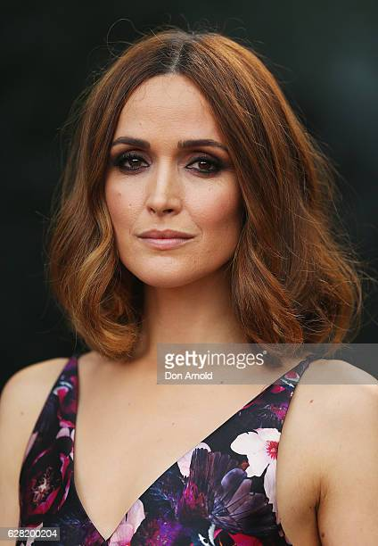 Rose Byrne arrives ahead of the 6th AACTA Awards at The Star on December 7 2016 in Sydney Australia