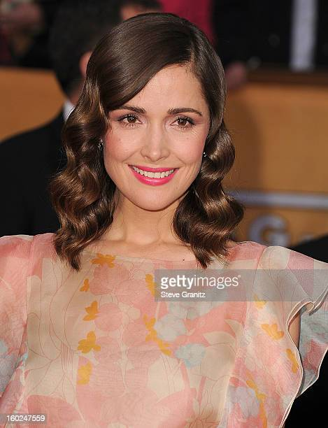 Rose Byrne arrives at the 19th Annual Screen Actors Guild Awards at The Shrine Auditorium on January 27 2013 in Los Angeles California