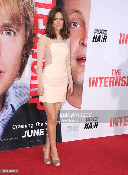 """Rose Byrne arrives at """"The Internship"""" - Los Angeles Premiere at Regency Village Theatre on May 29, 2013 in Westwood, California."""