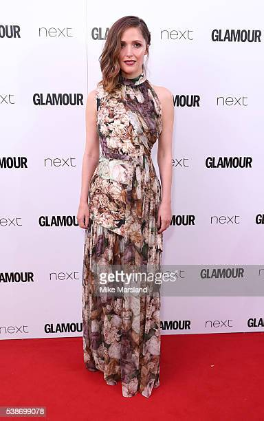 Rose Byrne arrives for the Glamour Women Of The Year Awards on June 7 2016 in London United Kingdom