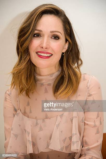 Rose Byrne at the 'Neighbors 2 Sorority Rising' Press Conference at Universal Studios Hollywood on April 30 2016