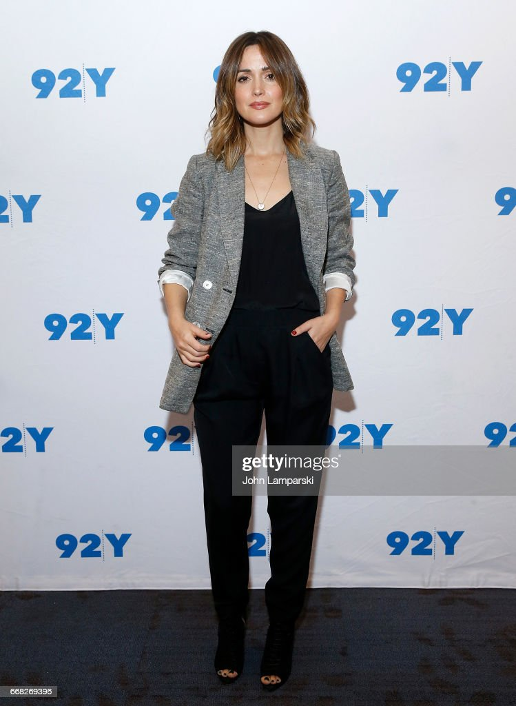 Rose Byrne attends 92nd Street Y presents 'The Immortal Life Of Henrietta Lacks' at 92nd Street Y on April 13, 2017 in New York City.