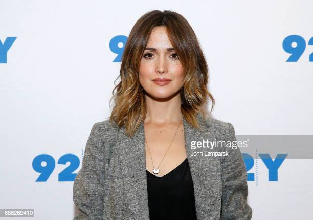 Rose Byrne attends 92nd Street Y presents 'The Immortal Life Of Henrietta Lacks' at 92nd Street Y on April 13 2017 in New York City