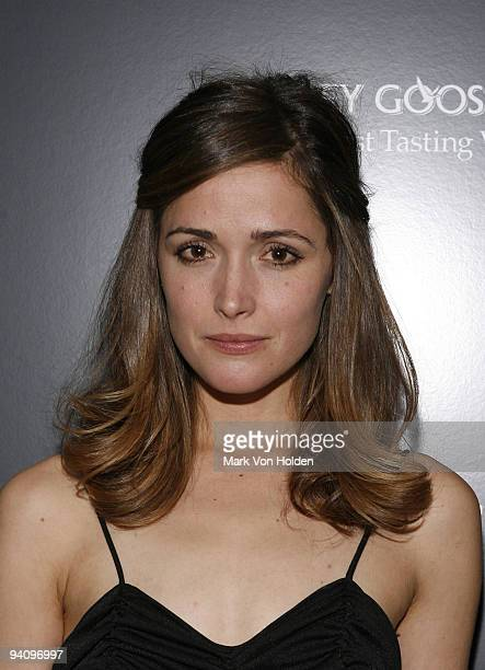 Rose Byrne attends a screening of A Single Man hosted by the Cinema Society and Tom Ford at The Museum of Modern Art on December 6 2009 in New York...