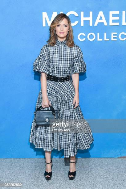 Rose Byrne attends Michael Kors Collection Spring 2019 Runway Show at Pier 17 on September 12 2018 in New York City