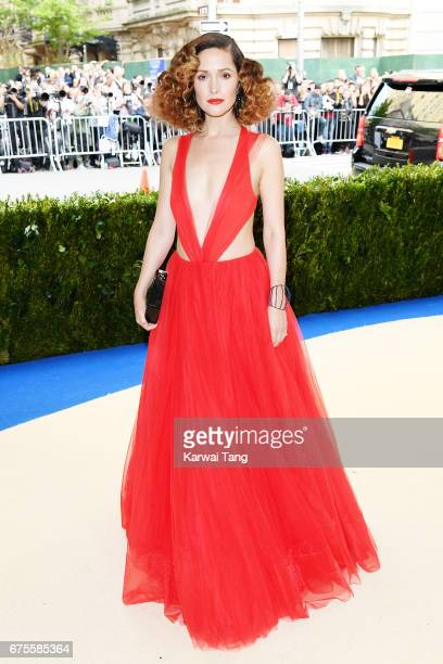 Rose Byrne attends 'Rei Kawakubo/Comme des Garcons Art Of The InBetween' Costume Institute Gala at Metropolitan Museum of Art on May 1 2017 in New...