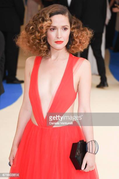 Rose Byrne attends 'Rei Kawakubo/Comme des Garcons Art Of The InBetween' Costume Institute Gala Arrivals at Metropolitan Museum of Art on May 1 2017...