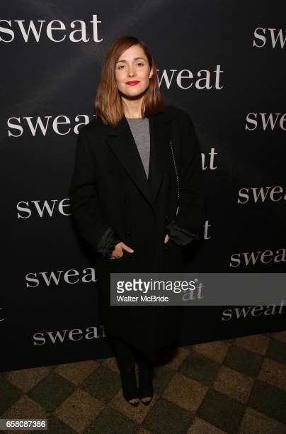 Rose Byrne attends the Broadway Opening Night Production of 'Sweat' at studio 54 Theatre on March 26 2017 in New York City