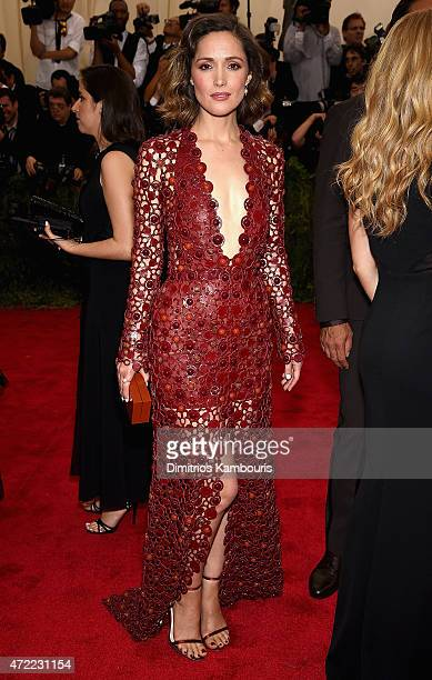 Rose Byrne attends the 'China Through The Looking Glass' Costume Institute Benefit Gala at the Metropolitan Museum of Art on May 4 2015 in New York...