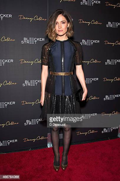 Rose Byrne attends the 'Danny Collins' New York Premiere at AMC Lincoln Square Theater on March 18 2015 in New York City