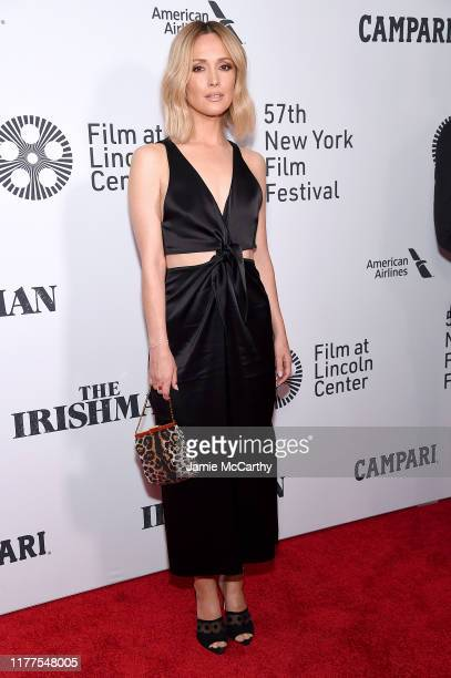 Rose Byrne attends The Irishman screening during the 57th New York Film Festival at Alice Tully Hall Lincoln Center on September 27 2019 in New York...