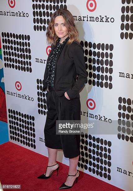 Rose Byrne attends the Marimekko For Target Launch at The High Line on April 7 2016 in New York City