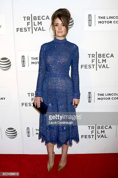 """Rose Byrne attends """"The Meddler"""" Premiere during the 2016 Tribeca Film Festival at John Zuccotti Theater at BMCC Tribeca Performing Arts Center on..."""