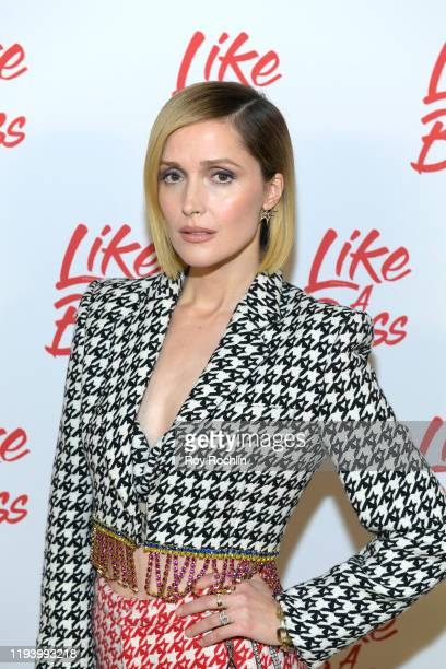 Rose Byrne attends the Paramount Pictures' Like A Boss Photocall at the Whitby Hotel on December 14 2019 in New York New York