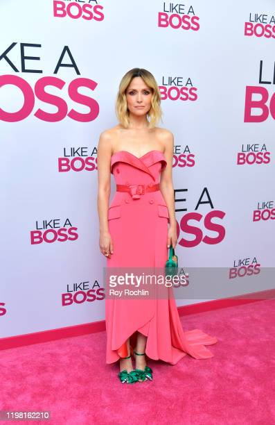 Rose Byrne attends the Paramount Pictures' Like A Boss World Premiere at the SVA Theater on January 7 2020 in New York New York